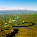 North Fork of the National Wild and Scenic River South of the Brooks Range in Alaska Photographic Print by Paul Andrew Lawrence