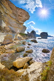 The Limestone Cliff, Bonifacio, South Coast of Corsica Island, France Photographic Print by Jan Wlodarczyk