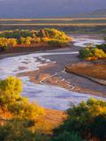 Tonto Creek at Sunrise [Tonto National Forest] Arizona Photographic Print by George H.H. Huey