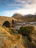 Sligachan Bridge, Isle of Skye Scotland UK Photographic Print by Tracey Whitefoot