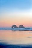 Sunrise with Arch Rock Rockaway Beach Oregon Photographic Print by Dennis Frates