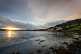 Sunrise over the Bay in Portree, Isle of Skye Scotland UK Photographic Print by Tracey Whitefoot