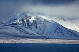 Snowclad Bjarnarhafnarfjalll, Snaefellsness Peninsula, Iceland Photographic Print by David Noton
