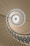 Tulip Stairs - Upside View of a Spiral Staircase Photographic Print by  BBA Travel