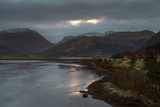 Sunrise at Loch Leven, Highland Scotland UK Photographic Print by Tracey Whitefoot