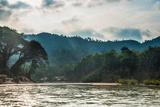 Tembeling River, Rainforest, Jungle, Kuala Tahan, Taman Negara, Malaysia Photographic Print by Klaus-Peter Wolf