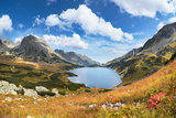 Tatra Mountains, Five Lakes Valley, Poland Photographic Print by Jan Wlodarczyk