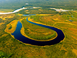 North Fork of the National Wild and Scenic River, the Brooks Range Alaska Photographic Print by Paul Andrew Lawrence