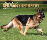 For the Love of German Shepherds Deluxe - 2018 Calendar Kalenders