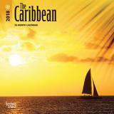 The Caribbean - 2018 Mini Calendar Kalenders