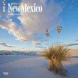 New Mexico, Wild & Scenic - 2018 Calendar Calendarios