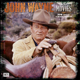John Wayne in the Movies - 2018 Calendar Kalenders
