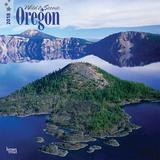 Oregon, Wild & Scenic - 2018 Calendar Kalenders