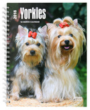 Yorkshire Terriers - 2018 Planner Calendars
