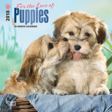 For the Love of Puppies - 2018 Mini Calendar Calendriers