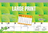 Large Print - 2018 Desk Pad Calendar Kalenders