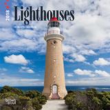 Lighthouses - 2018 Mini Calendar Kalenterit