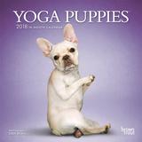 Yoga Puppies - 2018 Mini Calendar Calendriers
