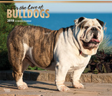 For the Love of Bulldogs Deluxe - 2018 Calendar Kalenders