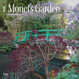 Monet's Garden - 2018 Calendar Kalendere