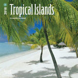 Tropical Islands - 2018 Mini Calendar Calendriers