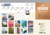 Inspiration - 2018 Desk Pad Calendar Kalenders