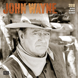 John Wayne Faces - 2018 Calendar Calendarios