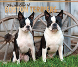 For the Love of Boston Terriers Deluxe - 2018 Calendar Calendars