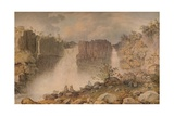 High Force, Teesdale, c1807 Giclee Print by Francis Nicholson