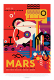 Visions Of The Future - Mars Poster by  NASA