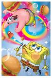 Spongebob - Rainbow Plakater