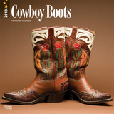 Cowboy Boots - 2018 Calendar Calendars