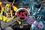 Transformers Robots In Disguise - BB Vs Steeljaw Affischer