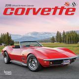Corvette - 2018 Mini Calendar Kalenders