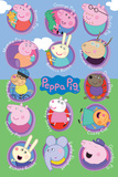 Peppa Pig - Multi Characters Posters