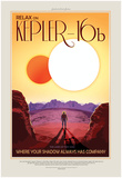 NASA/JPL: Visions Of The Future - Kepler-16B Plakater