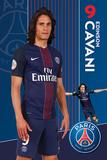 PSG - Cavani 16-17 Plakat