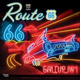 Route 66 18-Month - 2018 Calendar Kalender
