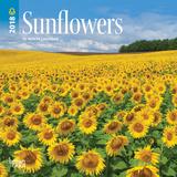 Sunflowers - 2018 Mini Calendar Calendarios