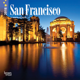 San Francisco - 2018 Mini Calendar Kalenders