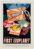 Visions Of The Future - Peg51 Poster par  NASA