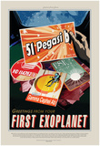 NASA/JPL: Visions Of The Future - Peg51 Poster