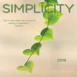 Simplicity - 2018 Mini Calendar Calendars