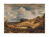 The Sandpits, 1856 Giclee Print by John Linnell