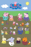 Peppa Pig - Characters Muddy Puddle Prints