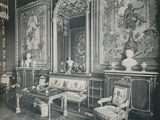 The Tapestry Room in Windsor Castle, c1899, (1901) Photographic Print by  Eyre & Spottiswoode
