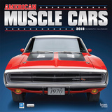 American Muscle Cars 18-Month - 2018 Calendar Calendars