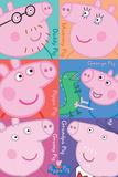 Peppa Pig - Squares Pósters