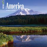 America - 2018 Mini Calendar Kalendere