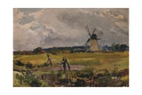 The Windmill, c1890 Giclee Print by Thomas Collier
